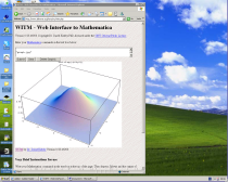 Remote display of Mathematica on Windows XP pro